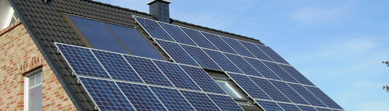 paneles solares casa unifamiliar