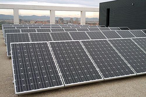 ejemplo de autoconsumo con energía solar sector terciario