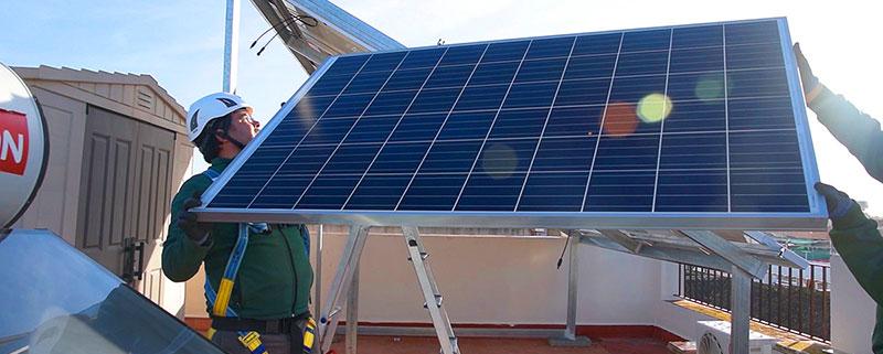 instalación fotovoltaica en vivienda individual